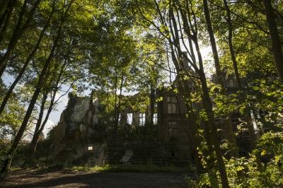 Lede, Ruines of Lede palace, Belgium, October 2015_6